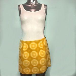 J crew lemon haze skirt